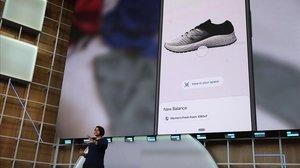 Aparna Chennapragada durante su presentación en la Google I/O.