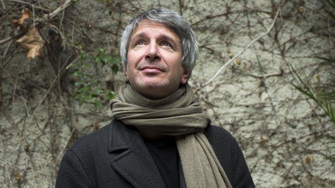 El autor francés Éric Vuilalrd, en la Casa del Llibre de Barcelona.