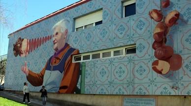Las abuelas gallegas se suben por las paredes