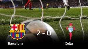 El Barcelona derrota en casa al Celta por 2-0