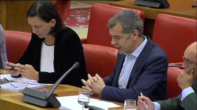 Tenso rifirrafe entre el ex tesorero del PP y el portavoz de Ciudadanos en la comisión de las cuentas del PP.