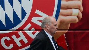 El presidente del Bayern de Múnich, Uli Hoeness, en una imagen de archivo