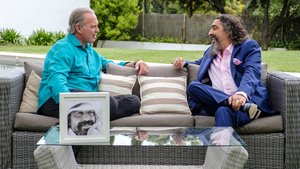 Bertín Osborne y El Cigala en la nueva entrega de 'Mi casa es la tuya'.