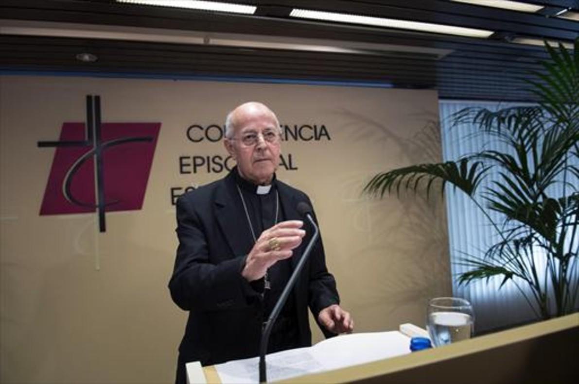 Ricardo Blázquez, presidente del episcopado español.