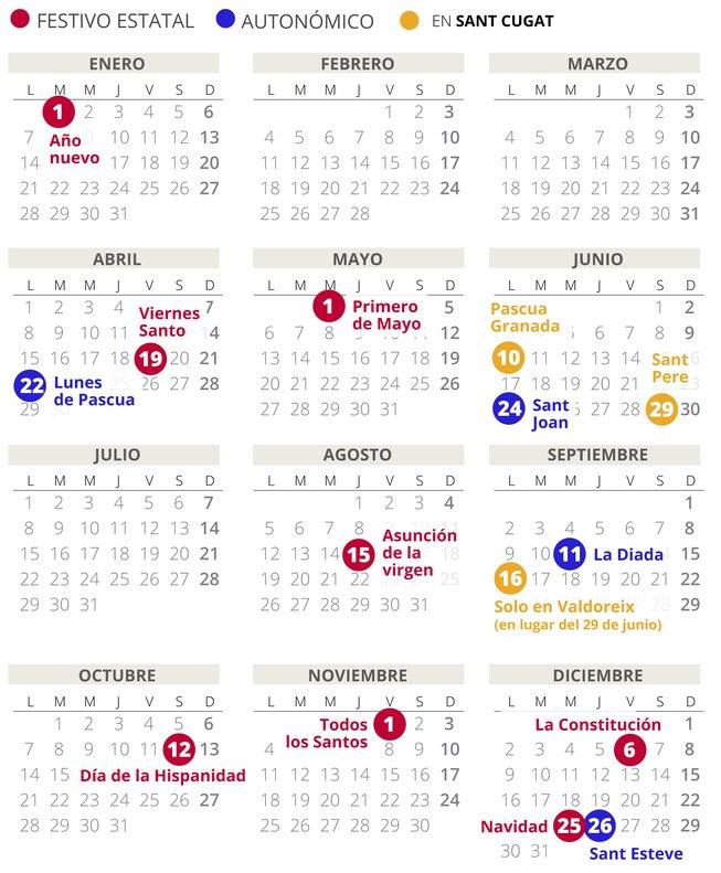 Calendario Laboral 2020.Ugt Ford Calendario Laboral 2020