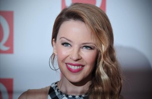 La cantante australiana Kylie Minogue.