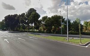 La Avenida de los Poblados, en el distrito madrileño de Carabanchel.