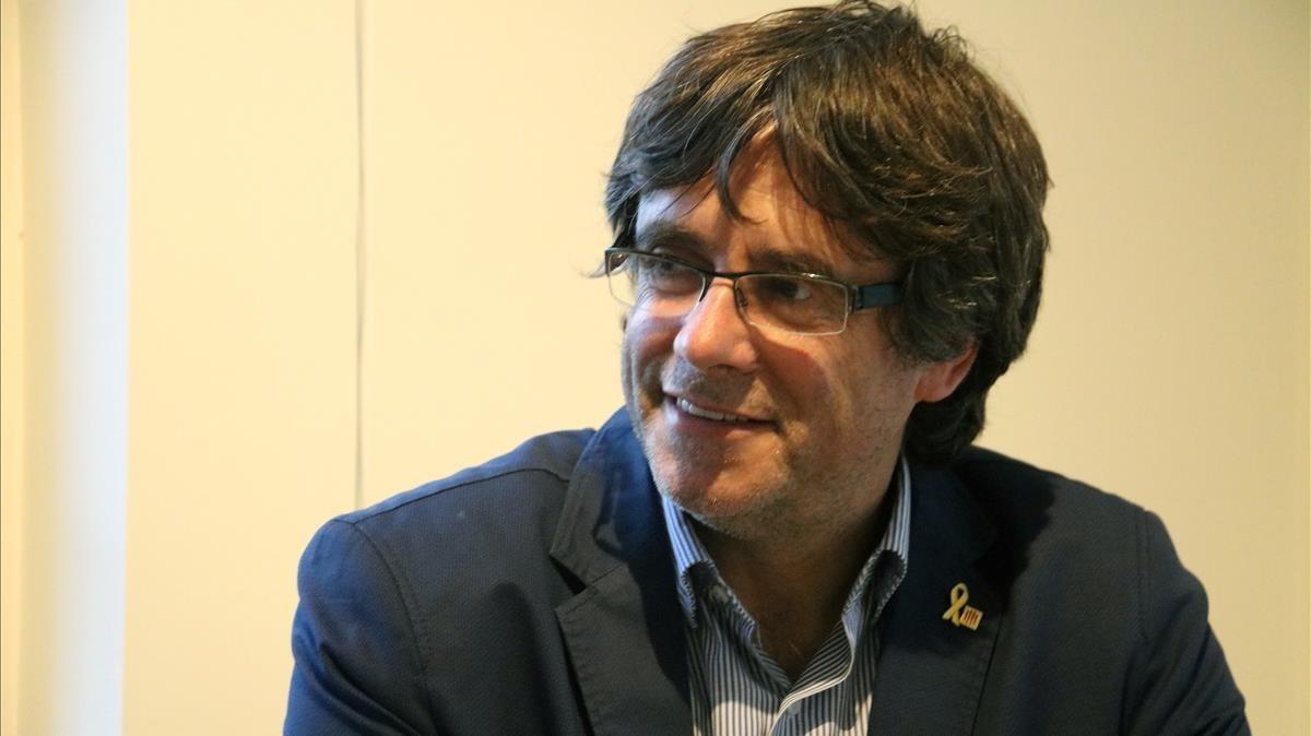 El expresident del Govern Carles Puigdemont.