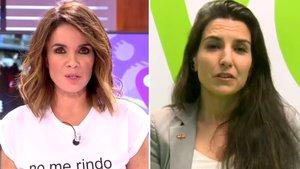 Carme Chaparro y Rocío Monasterio.