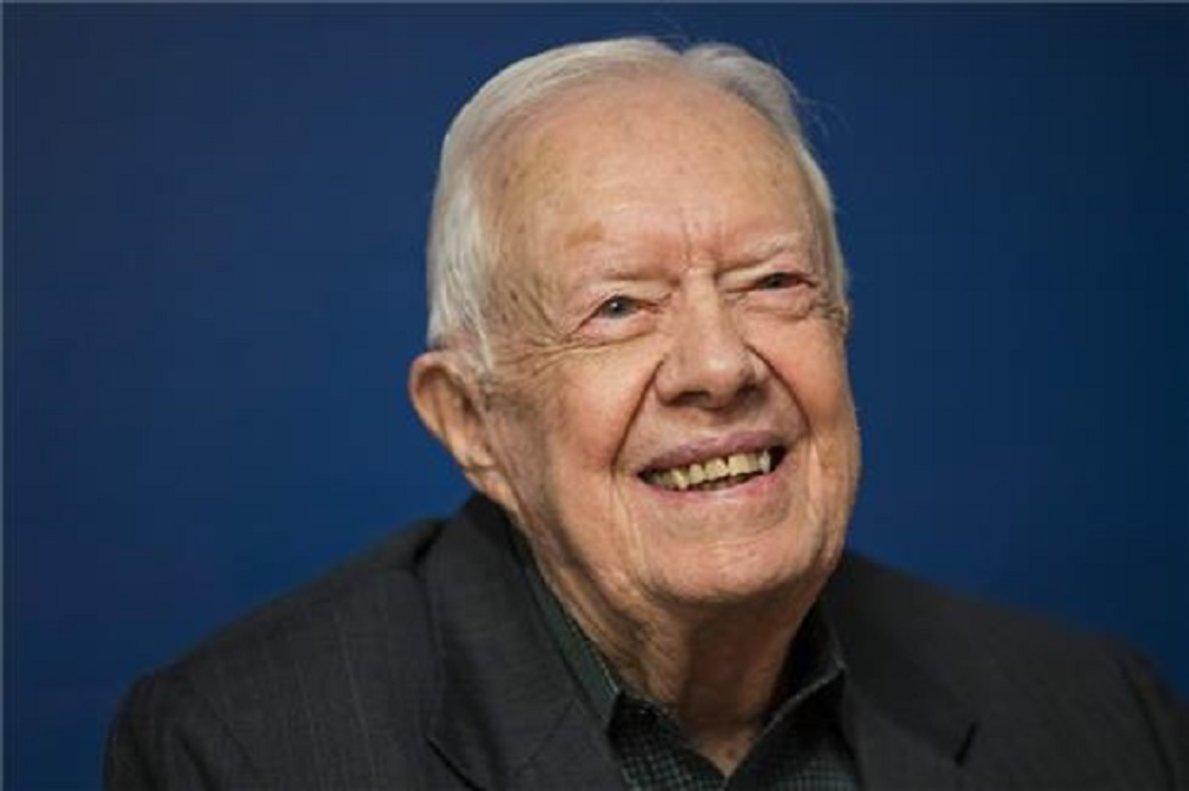 Expresidente de EE.UU, Jimmy Carter.