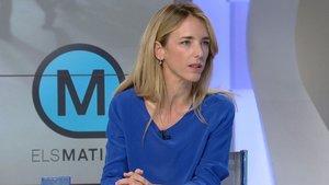 Cayetana Álvarez de Toledo en 'Els Matins' de TV3.