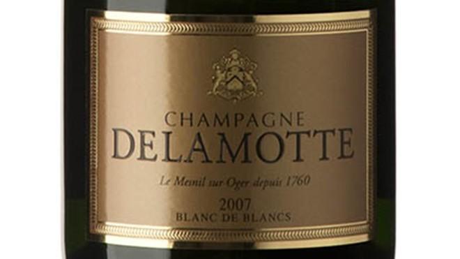 Delamotte Blanc de blancs 2007.