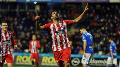 Diego Costa deja huella en Lleida