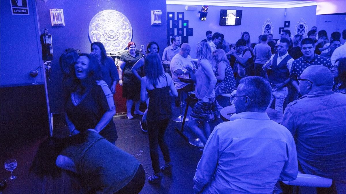 La discoteca Feeling de la Zona Hermética, en mayo del 2016.
