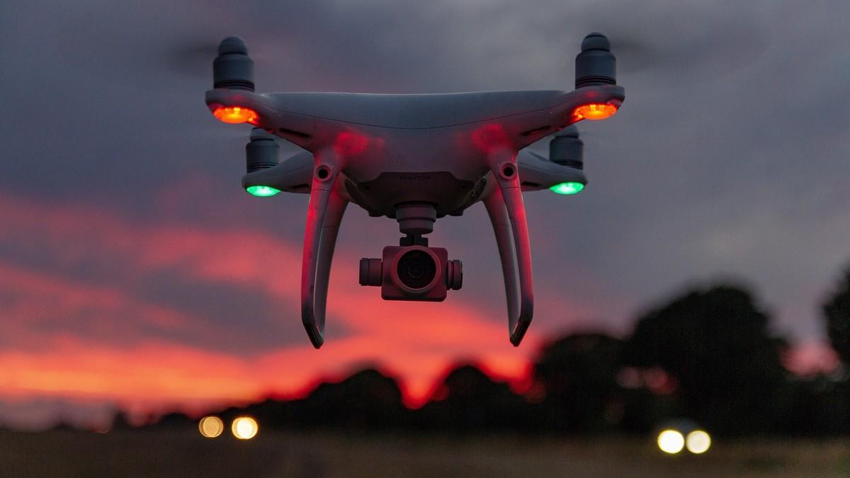 Un dron, en una foto de archivo.