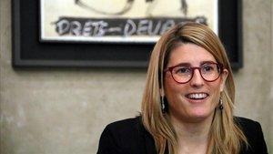 Elsa Artadi, en el Palau de la Generalitat