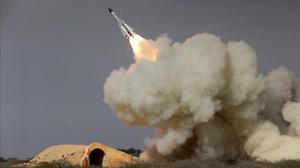 Ensayo de misiles por parte de Irán, en febrero del 2017.