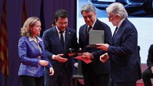 Entrega de los premios Carles Ferrer Salat y las medallas de honor 2019 de Foment, y del premio alempresario del año a Luca de Meo, presidente de Seat.