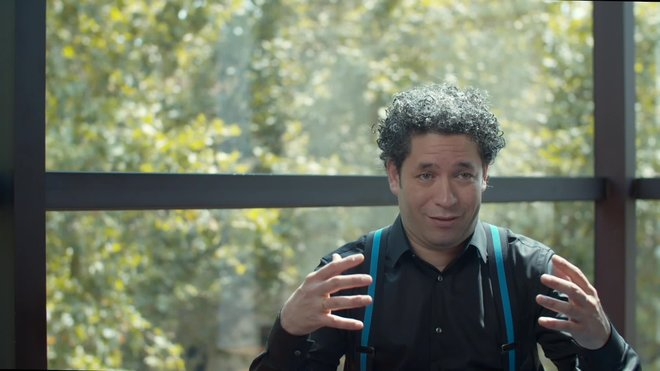 Entrevista a Gustavo Dudamel e Igor Cortadellas.