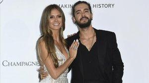 Heidi Klum y Tom Kaulitz, en mayo, en el festival de Cannes.