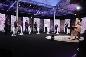 Imagen del debate electoral de La Sexta.