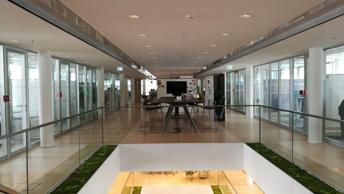 Centro de Innovación y Aprendizaje de Steelcase, en Múnich.
