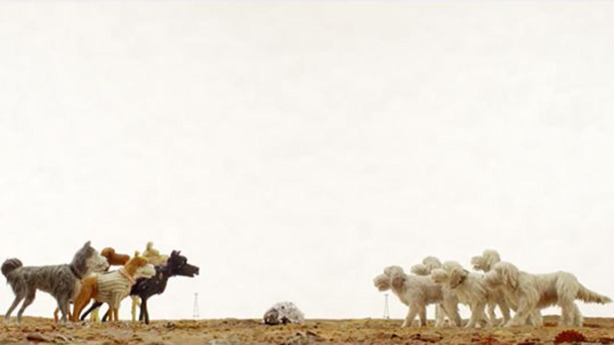 Un fotograma de la película Isla de perros de Wes Anderson.