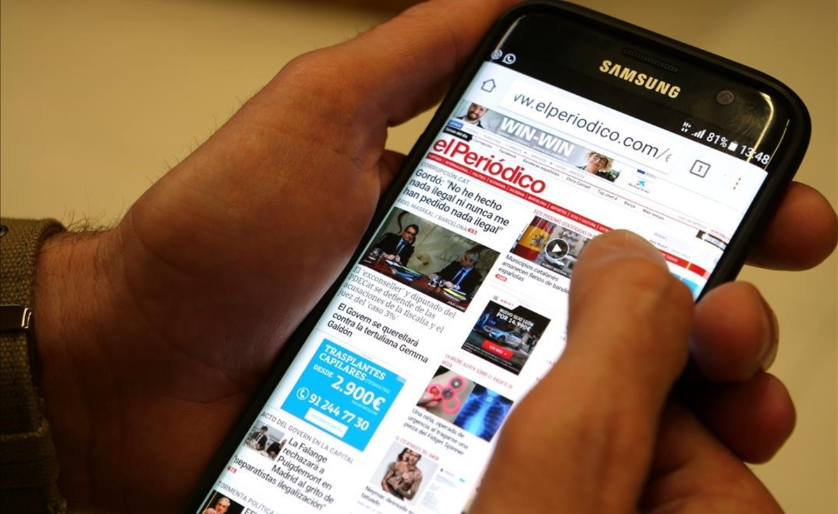 Unlectorconsulta la edición digital de EL PERIÓDICO.