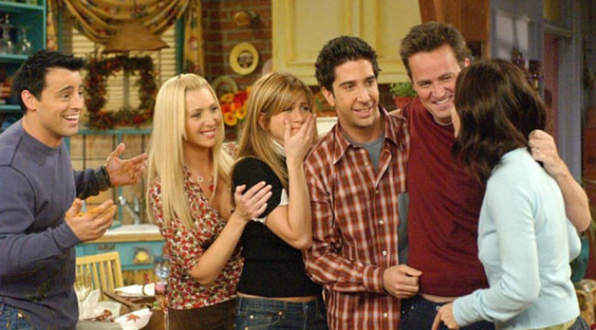 Joey, Phoebe, Rachel, Ross, Chandler y Mónica, los protagonistas de 'Friends'.