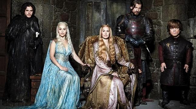 Los principales personajes de Juego de tronos.