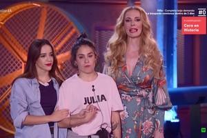 Julia o Mónica: una de ellas se convertirá en la nueva pareja de Claudia en 'Fama a bailar'