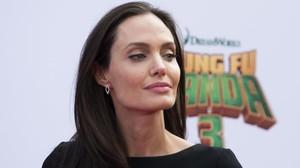 Angelina Jolie, en enero pasado.
