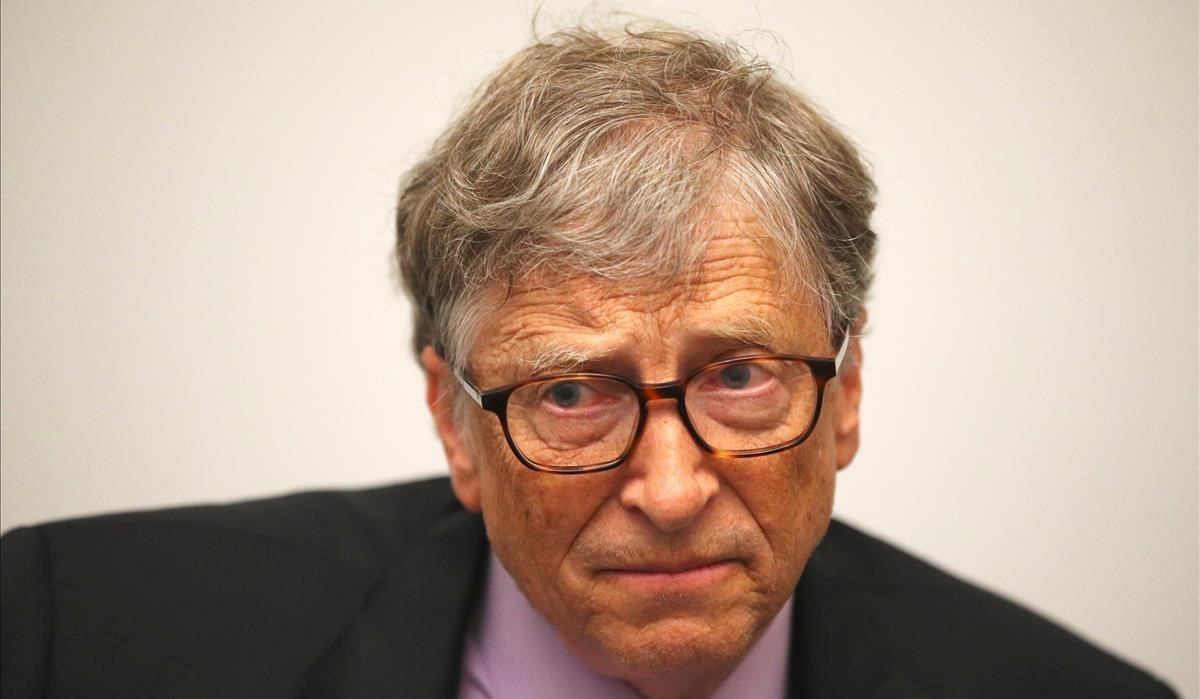 Bill Gates, este jueves en Londres.