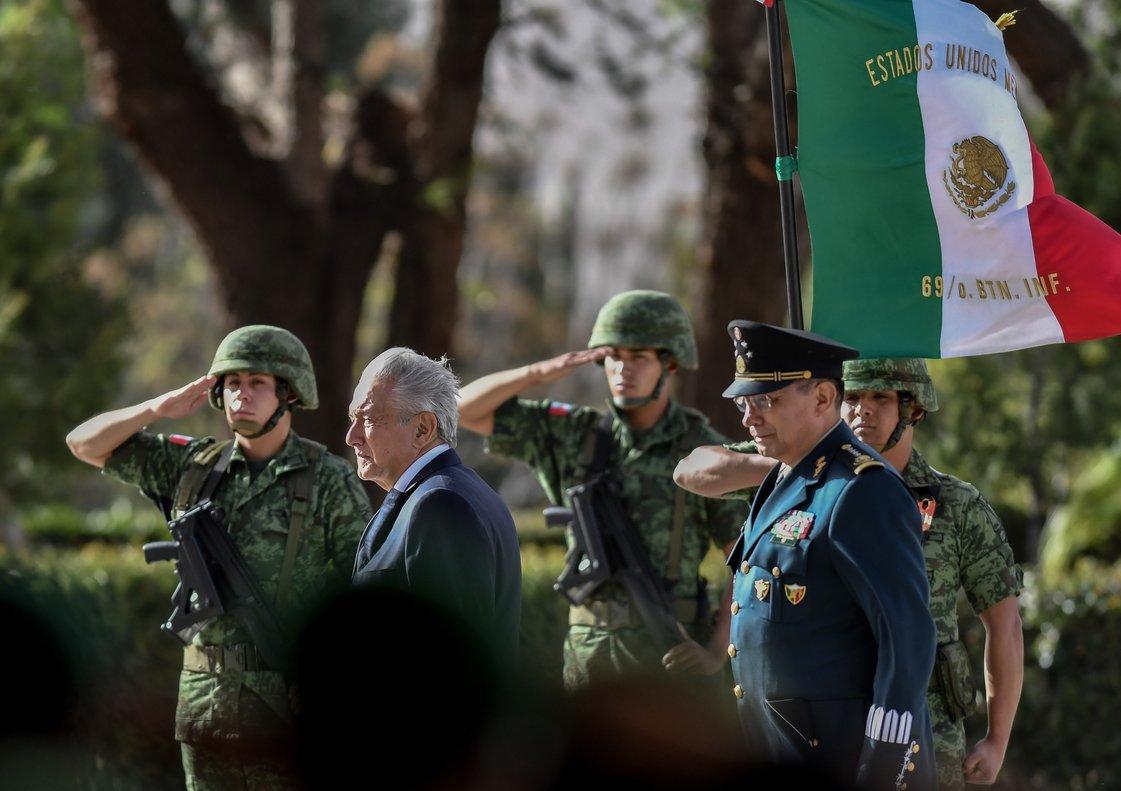 López Obrador aseguró que el modelo de Guardia Nacional que le propuso al Legislativo mexicano es un modelo ya aprobado.