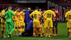 El Barça, destrossat
