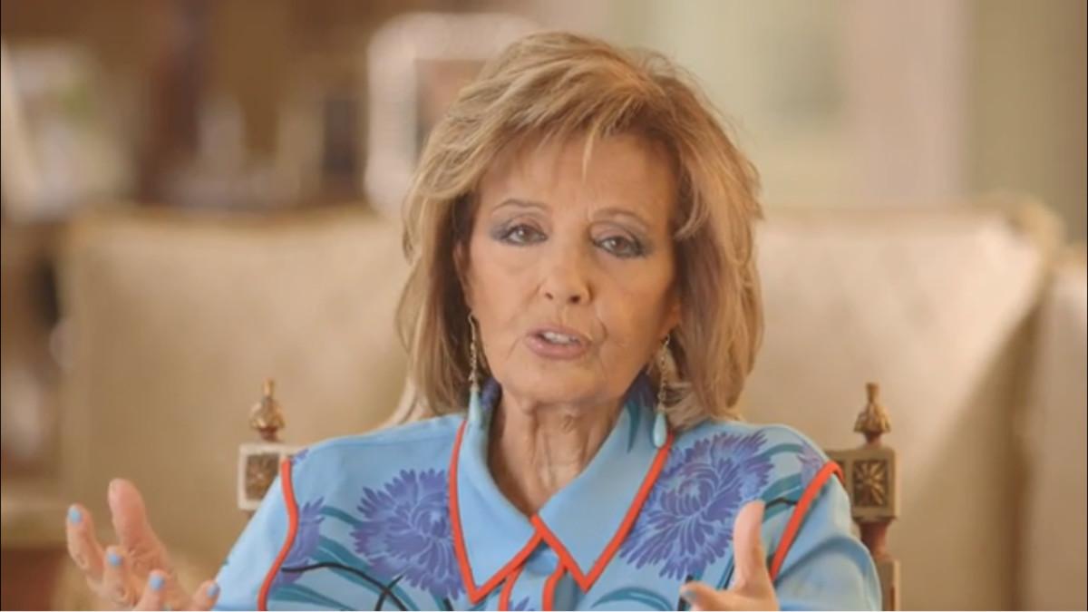 María Teresa Campos en 'Las Campos'.