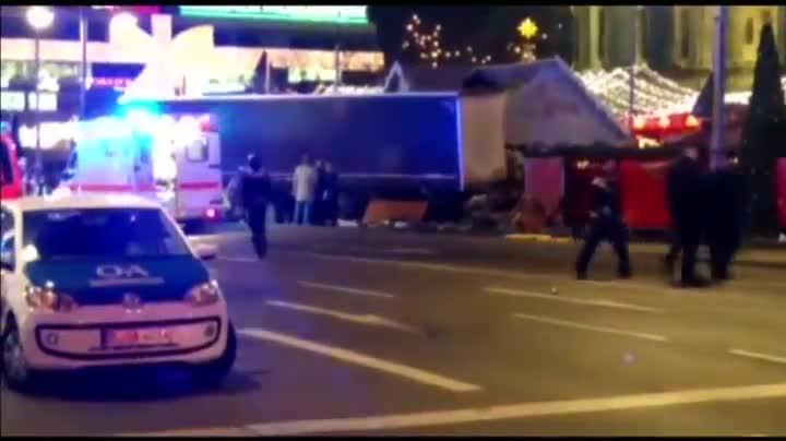 Masacre en un mercadillo navideño de Berlín