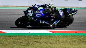 Maverick Viñales (Yamaha) consiguó la pole en Misano y luchará por la victoria en el GP de San Marino.