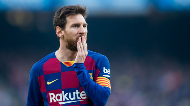 Messi acepta la rebaja del 70% del sueldo del Barça.