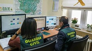 Miembros de la Guardia Civil.