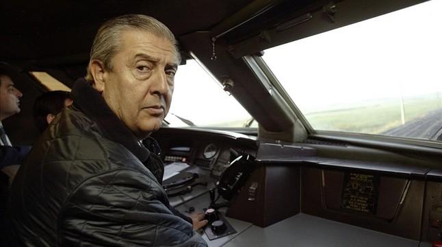 Miguel Corsini, en una imagen del 2004, cuando era presidente de Renfe.