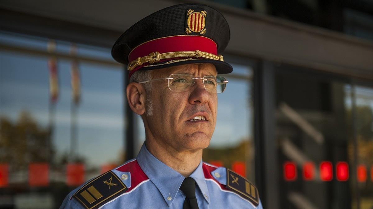 Miquel Esquius,nuevo jefe de los Mossos d'Esquadra.