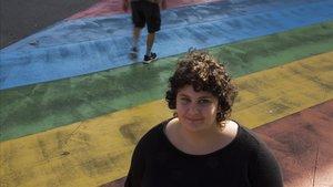Kai Guerrero, activista contra la gordofobia.