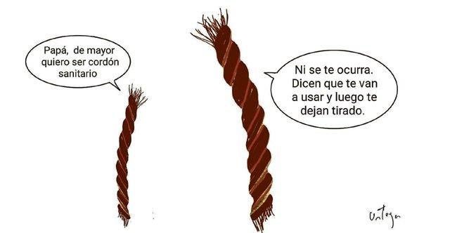 El humor gráfico de Juan Carlos Ortega del 20 de Febrero del 2019