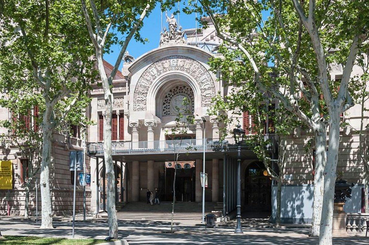 Palacio de Justicia de Barcelona.