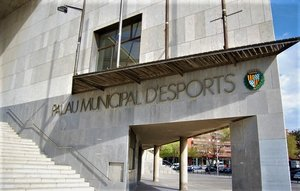 Palau Municipal d'Esports de Badalona.