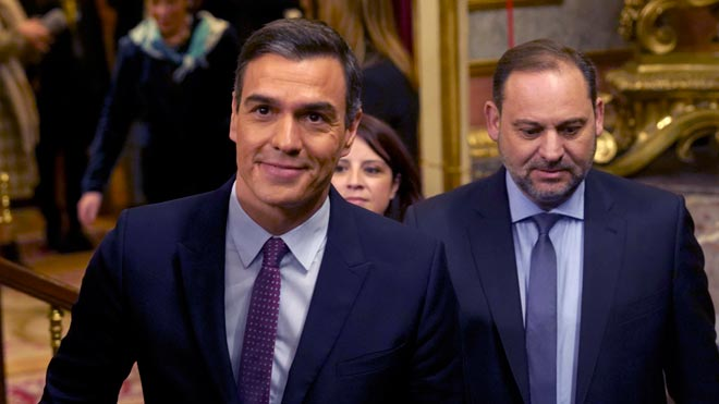 Pedro Sánchez aboga por el diálogo y el fin del bloqueo en el debate de investidura.