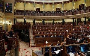 El pleno del Congreso.