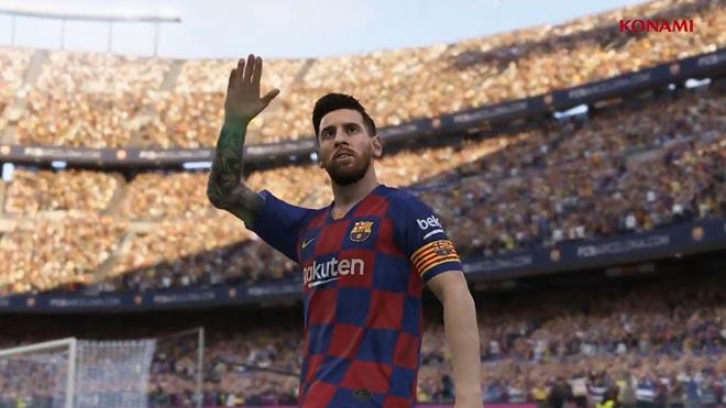 Pro Evolution Soccer 2020 llega el 10 de septiembre con Messi en la portada.