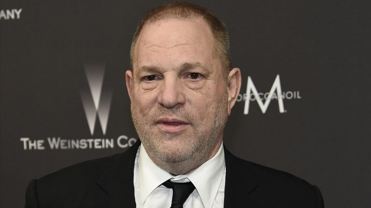 El productor de cine estadounidense Harvey Weinstein.
